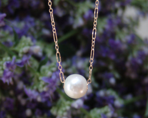 10 mm Round White Freshwater Pearl