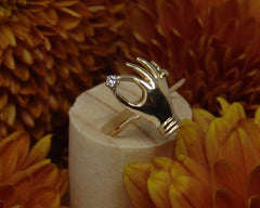Victorian Pin Converted to Ring