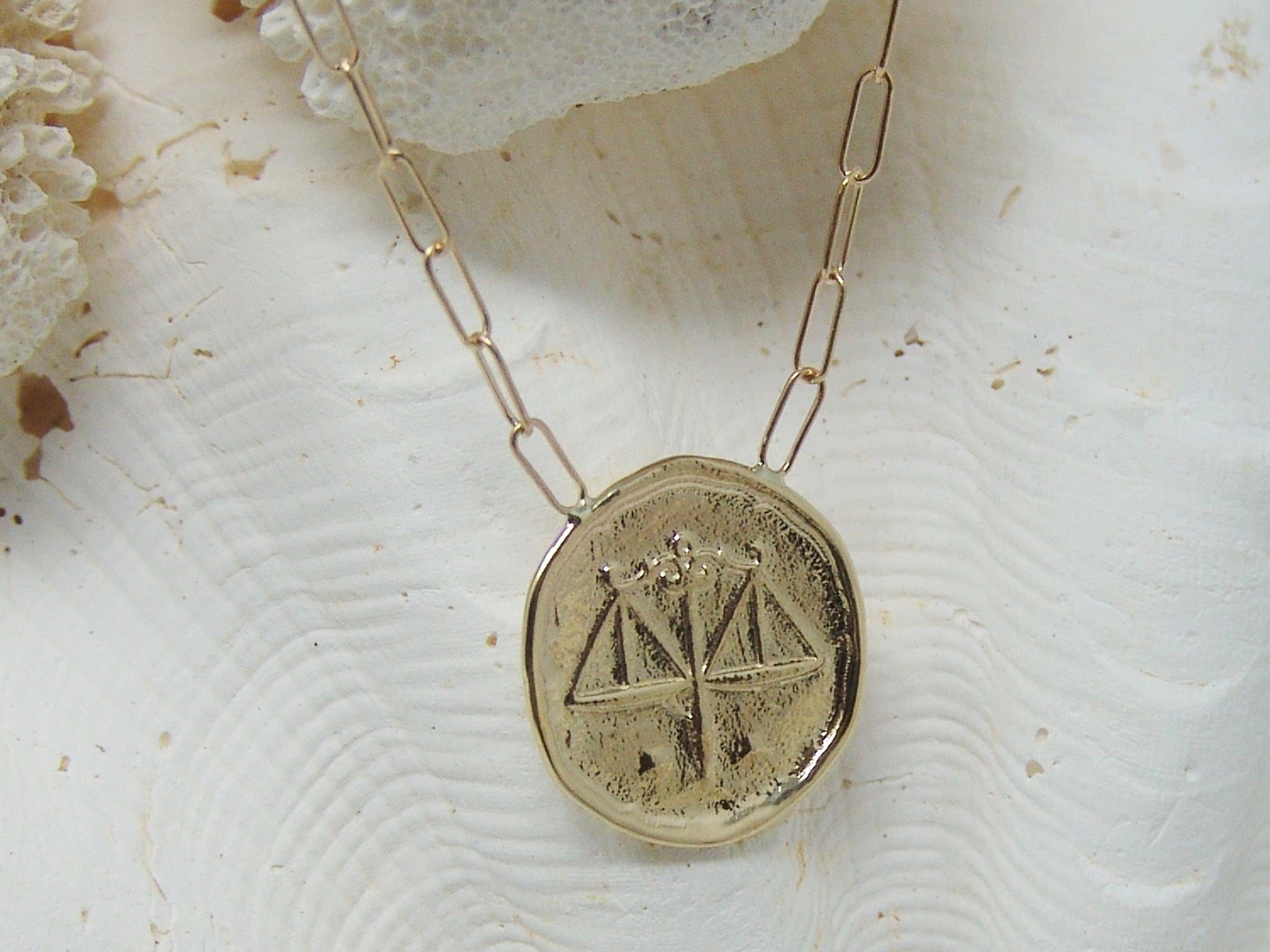 Libra (Scales) Astrology Necklace