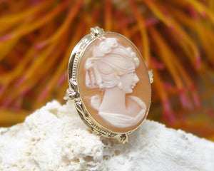 Vintage Pin Converted to a Ring