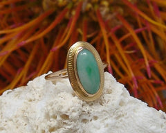 Edwardian Pin Converted to a Ring