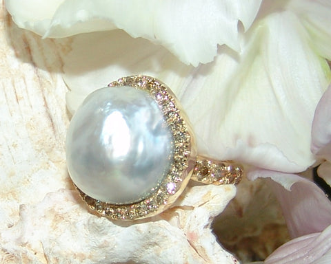 South Sea Pearl Ring