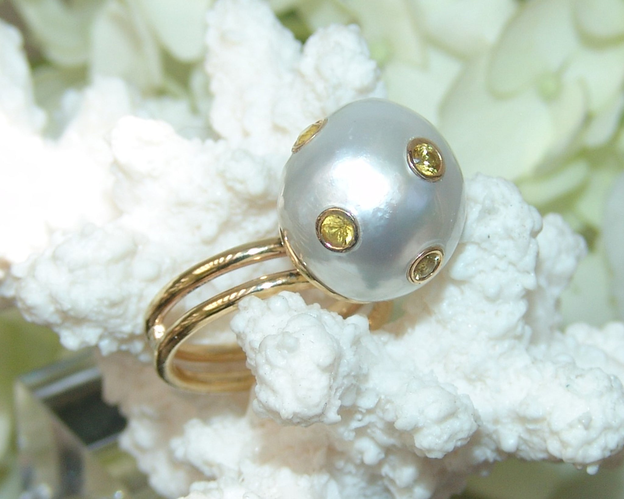 South Seat Pearl Ring