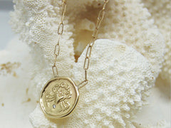 Cancer (Crab) Astrology Necklace