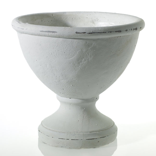 White Ceramic Compote