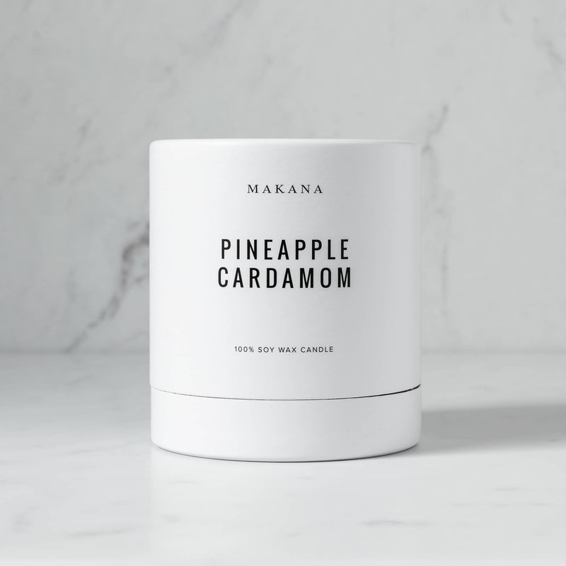 Pineapple Cardamom Classic 10 oz Candle