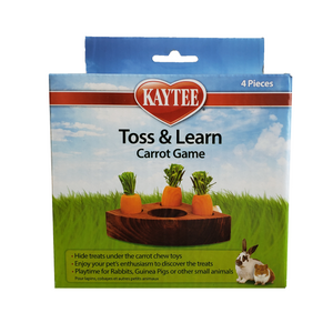 Kaytee Carrot Toss and Learn Game