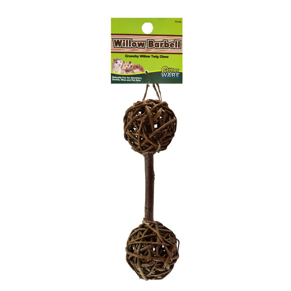 Ware Willow Garden Barbell with Ball