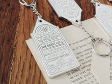 Load image into Gallery viewer, Ticket to the Yule Ball Keychain