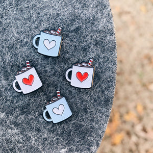Hot Chocolate mini pins