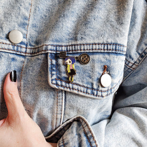 Little Coraline Doll pin