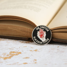 Load image into Gallery viewer, The Thirteen Blackbeak membership enamel pin