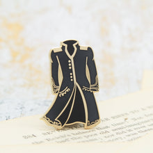 Load image into Gallery viewer, Color changing magic coat a darker shade of magic red to black enamel pin