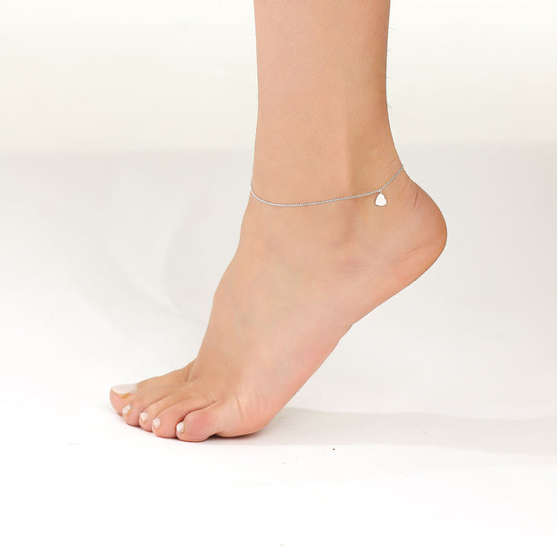 Plain Fire Anklet
