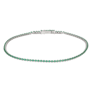 Green Eternity Bracelet