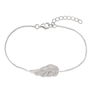 Clear Faith Bracelet