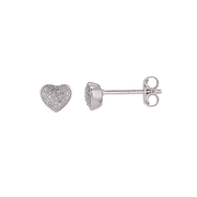 White Forever Diamonds Earring