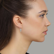 Clear Faith Earring