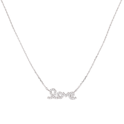 Clear Pure Love Necklace