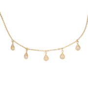 Clear Choker Necklace
