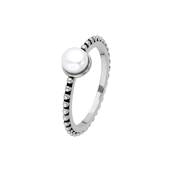 White Pearls Ring