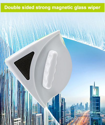 Double Sided Magnetic Window Cleaner - Magnetic Glass Cleaner