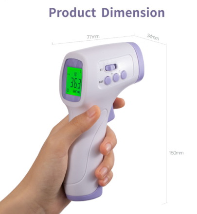 2 Non Contact Thermometers - 2 in 1 Deal