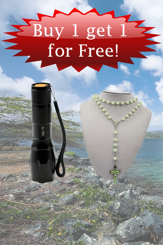 Rechargeable Flash Light - Rosary - Bundle Deal