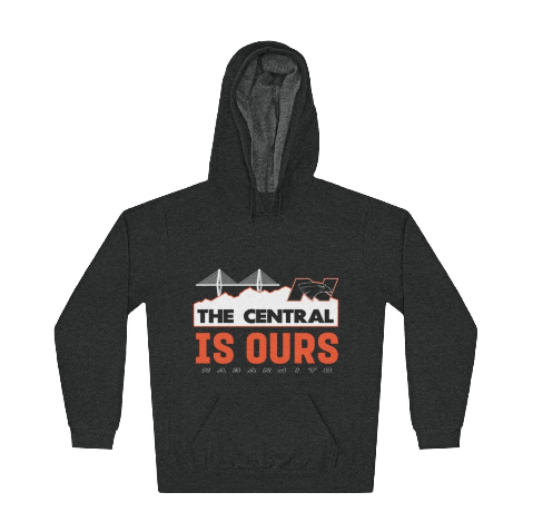 Changos - The Central is Ours - Unisex Lightweight Hoodie