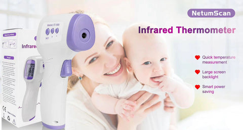 Digital Infrared Thermometer Laser
