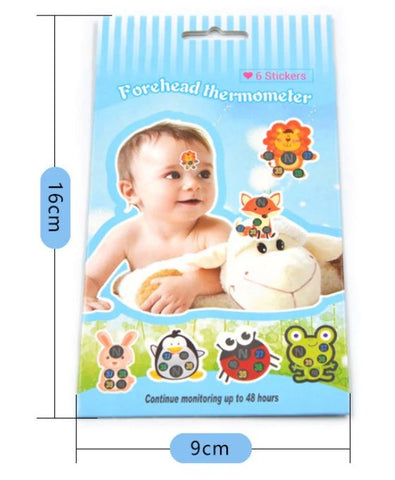 Baby Fever Temperature Monitor Stickers