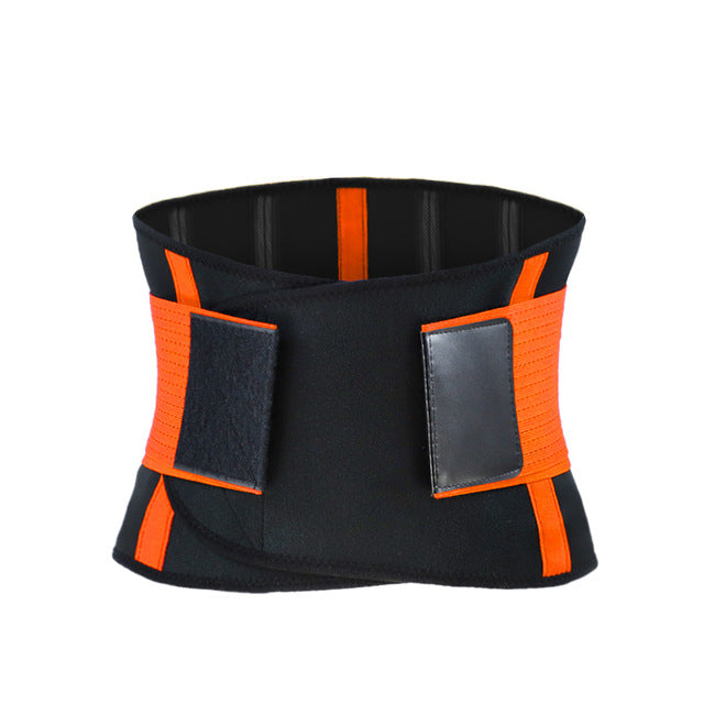 Adjustable Waist Back Support Waist Trainer Trimmer Belt