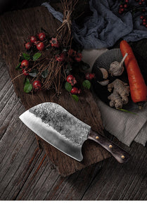 Handmade Forged Stainless Steel Kitchen Knife