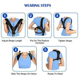 Adjustable Posture Corrector Back Support Strap