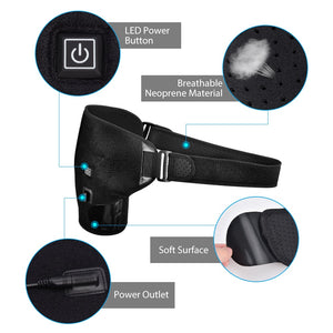 Adjustable Shoulder Heat Therapy Belt