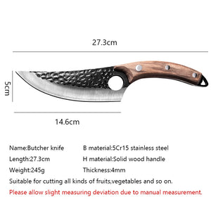 Stainless Steel Kitchen Boning Knife