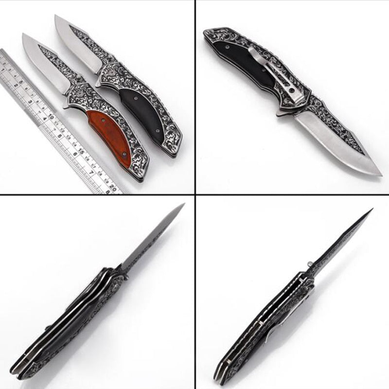 Tactical Hunting Folding Blade Knives