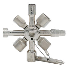 Load image into Gallery viewer, Multifunctional 10 In 1 Universal Cross Plumber Keys Triangle for Gas Tools
