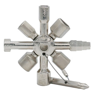 Multifunctional 10 In 1 Universal Cross Plumber Keys Triangle for Gas Tools