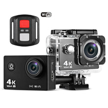 Load image into Gallery viewer, Remote Control 4K Waterproof Action Camera for Sports