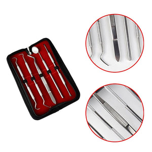 5 in 1 Professional Multifunctional Various Dental Tools Set