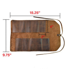 Load image into Gallery viewer, For Leather Craft DIY TOOL Toolkit Pouch Hand Bag Leather Multifunction Tools Storage Bag