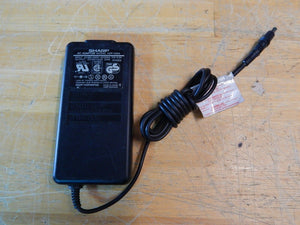 SHARP ADP-2004 AC Power Supply Adapter Charger Output DC 12V 2.0A 24VA
