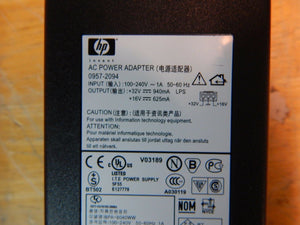 AC Adapter For HP Genuine 0957-2094 0959-2154 0950-4466 Printer Power Supply
