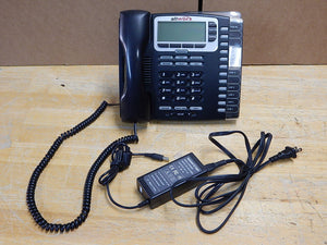 Allworx 9212L VoIP PoE 12-Line Display Office Phone with Power Supply