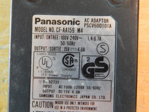 PANASONIC CF-AA159 M4 AC Adapter Charger Genuine