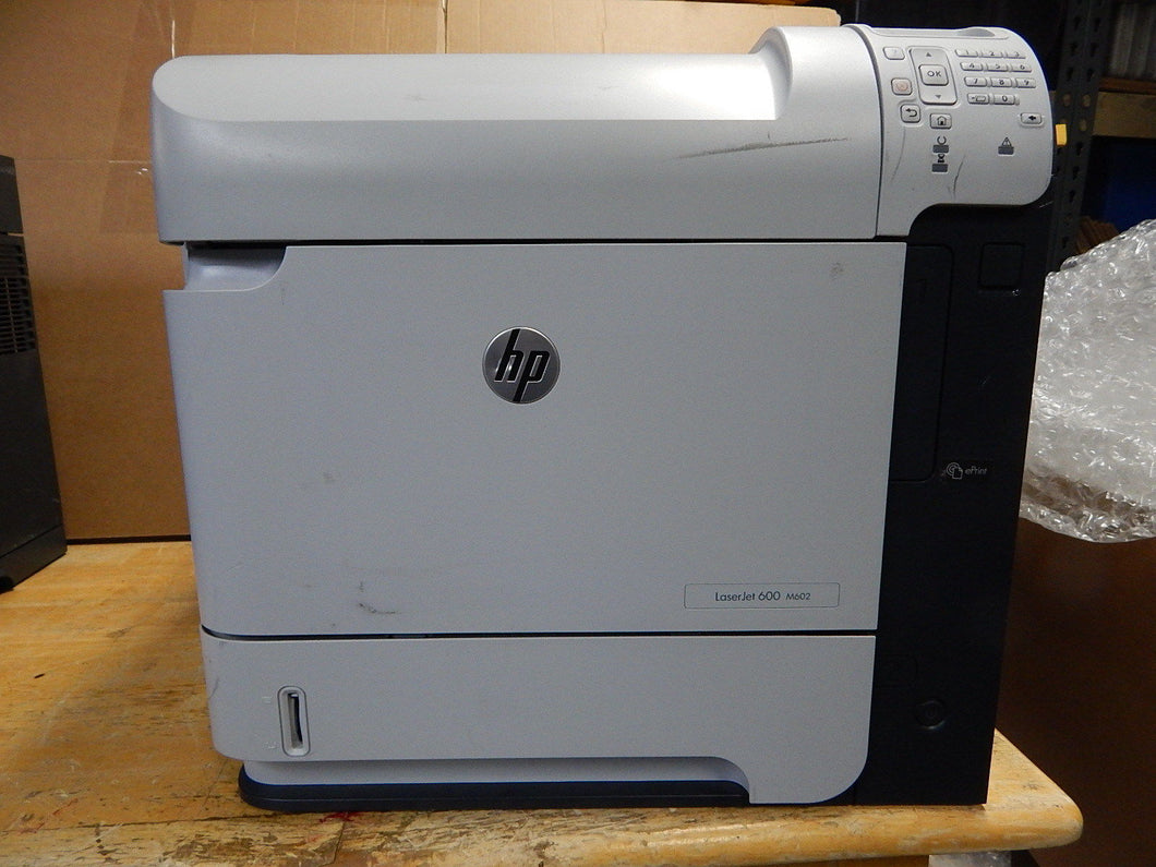 HP LaserJet 600 M602 M602n  Laser Network 52 ppm print speed Printer CE993A