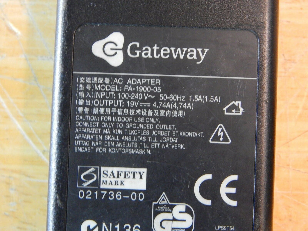 90W AC Power Adapter Charger For Gateway ADP-90AB PA-1900-05 PA-1900-15 Laptop