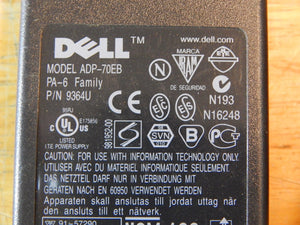 Dell Power Supply AC Adapter Model # AA20031 ~ PA-6 Family ~ p/n 9364U