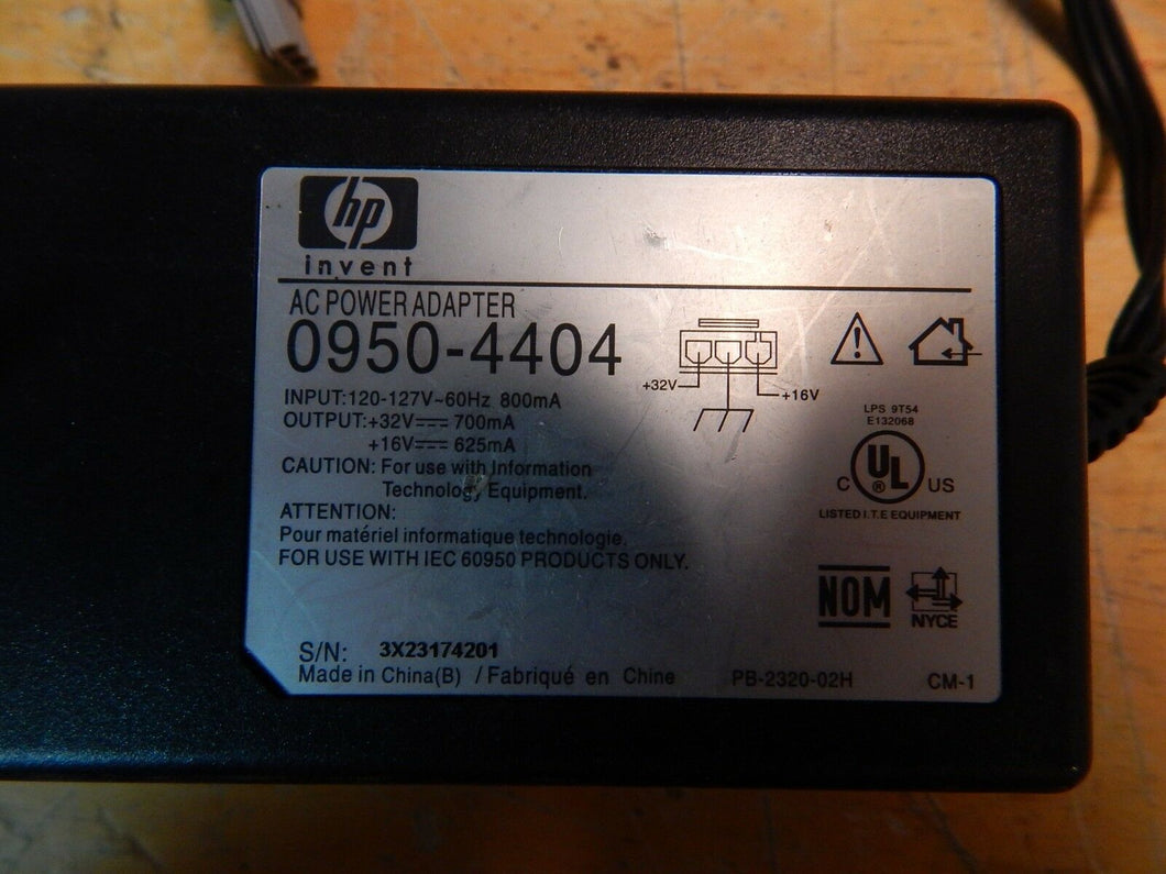 HP DeskJet 5650 C6490A Replacement Parts: Genuine 0950-4404 AC Power Adapter